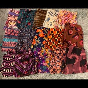 LuLaRoe Tall & Curvy 15 Women's Leggings